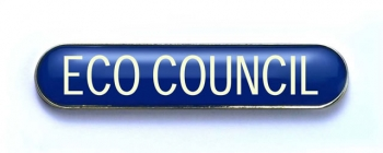 Tube Badge 'ECO COUNCIL' Blue (Pk. 5)