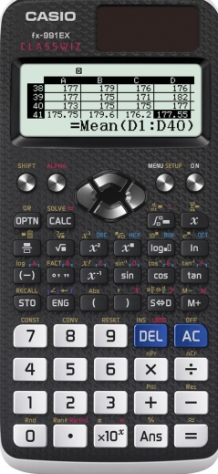 The Casio ClassWizz - FX-991EX Available Now